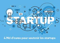 Covid-19 : le gouvernement débloque 4 milliards d'euros pour aider les start-up